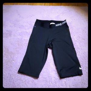 Nike pro dry fit biker shorts
